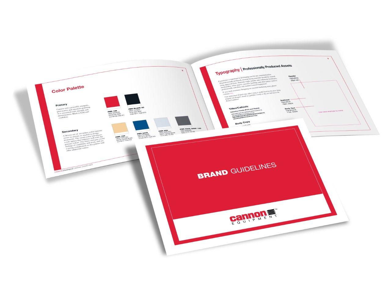 Cannon Equipment Work Example from GrowthMode Marketing