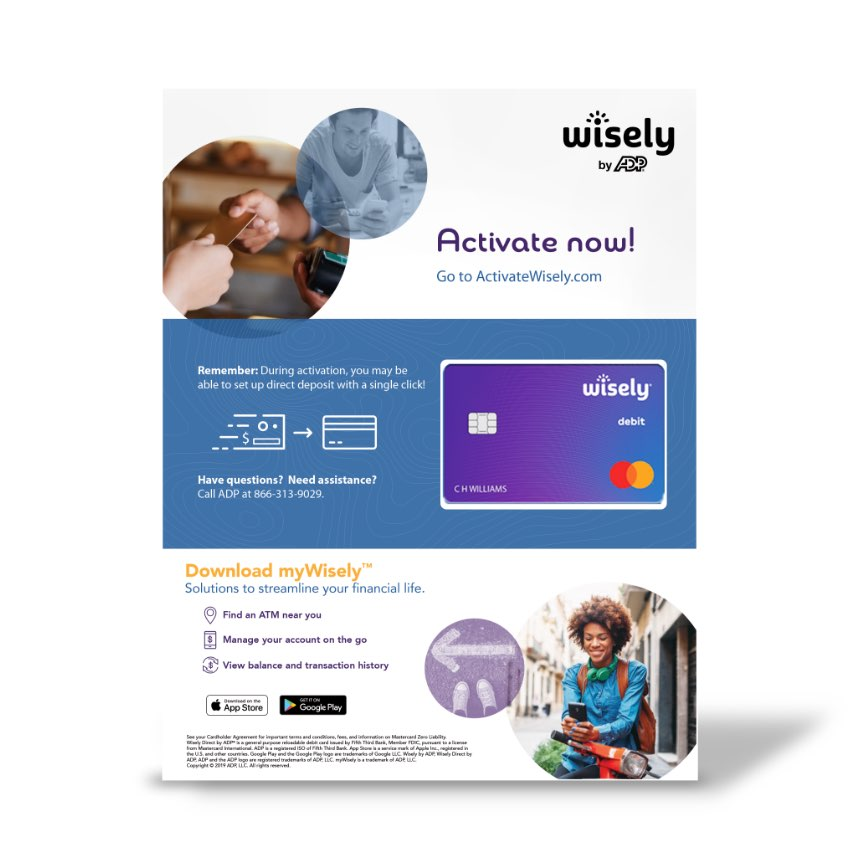 Wisely® by ADP Work Example from GrowthMode Marketing